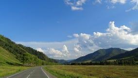 altai Région de Chui de beauté Photographie stock