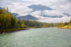 Altai river Katun Royalty Free Stock Photo