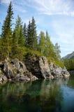 Altai river Kumir Stock Photography