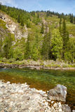 Altai river Kumir Stock Images