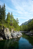 Altai river Kumir Royalty Free Stock Photo