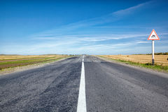 Altai road Stock Images