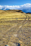 Altai road to North Chuisky Ridge Stock Photography