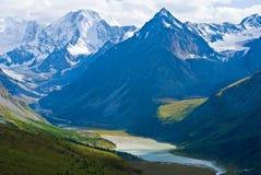 Altai Russia del fiume di Akkem Fotografia Stock