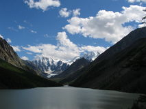 Altai, Russia. Lake in the Altai Mountains Royalty Free Stock Image