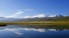 Altai Tavan Bogd cinq saints photographie stock libre de droits
