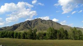 altai Villaggio di Ongudai di bellezza Fotografia Stock Libera da Diritti