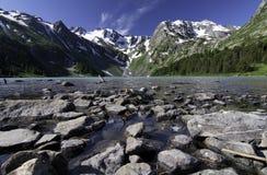 altaidagar sist bergsommar Arkivfoton