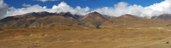 altaidagar sist bergsommar Härlig höglands- liggande Ryssland siberia Fotografering för Bildbyråer