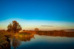 altaifältrussia soluppgång fotografering för bildbyråer