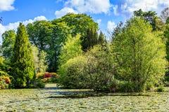 Altamont garden in Ireland Stock Photography