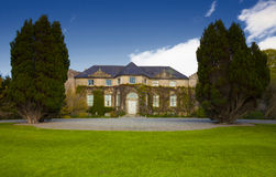 Altamont-Haus Lizenzfreie Stockfotos