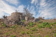 Altamura, Μπάρι, Πούλια, Ιταλία: παλαιό trullo, το παραδοσιακό Apuli Στοκ φωτογραφίες με δικαίωμα ελεύθερης χρήσης