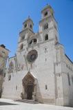 Altamura Cathedral. Apulia. Stock Photo