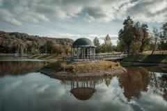 Altana na jeziorze Zdjęcie Royalty Free