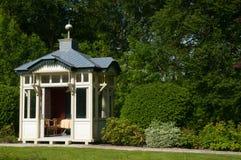 altana ogród Zdjęcie Royalty Free