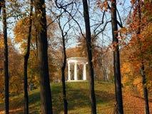 altanka jesienią park zdjęcia stock