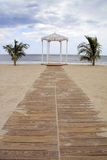 altanka na plaży Zdjęcie Royalty Free