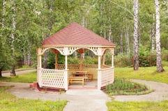 altany drewno Zdjęcie Royalty Free