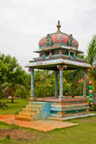 Altar. In the garden of a tropical resort in Tamil Nadu, India Stock Photos