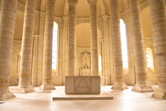Altar of the Abbey Royalty Free Stock Image