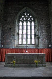Altar of the Abbey church of Iona, Scotland Royalty Free Stock Photography