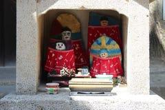 Altar - Amano-Hashidate - Japan. A small altar was installed near a Shinto temple in Amano-Hashidate (Japan). Un petit autel a été installé près d'un royalty free stock images