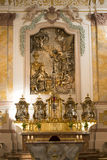 Altar Annunciation in Munich Stock Photography