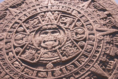 Altar azteca del sol, Fotografía de archivo libre de regalías