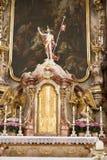 Altar-barocke Kirche Lindau stockfoto