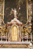 Baroque Altar Church Lindau Stock Photo