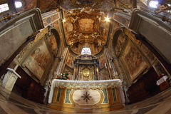 Altar barroco Imagens de Stock