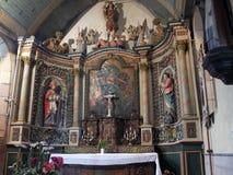 Altar barroco ingênuo Imagens de Stock Royalty Free