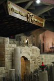 Altar of the Basilica of the Annunciation Stock Photography