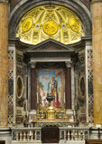 Altar in the Basilica of Saint Peter Royalty Free Stock Photo