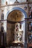 Altar of Boldieri in chiesa di Sant Anastasia Stock Image
