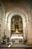 Altar católico Fotografía de archivo