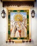Altar católico en calle pública Imagen de archivo