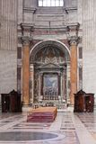 Altar in Cathedral Royalty Free Stock Image