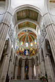 Altar in Cathedral of Almudena, Madrid Stock Photos