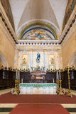 Altar at the Cathedral of Havana Stock Image