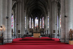 Altar - Cathedral of Lille - France Royalty Free Stock Photos