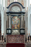 Altar of the Cathedral of Our Lady in Antwerp, Bel Royalty Free Stock Photography