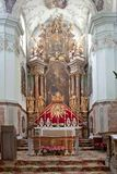 Altar is in the cathedral of saint Peter Royalty Free Stock Image