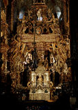 The altar of the Cathedral of Santiago de Compostela Stock Images