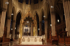 Altar of Cathedral St. Patrick Royalty Free Stock Image