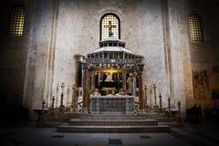 Altar church in Dubrovnik Stock Photos