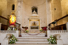 Altar church in Dubrovnik Royalty Free Stock Photography