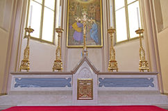 Altar in the church Stock Image