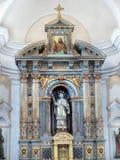 Altar in Church. Main Altar - The Church of St. Wenceslas, Zinkovy, Czech Republic Stock Photo